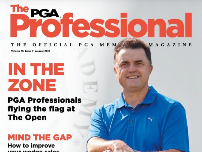 Cover Shot für die Professional Golfers Association (PGA)